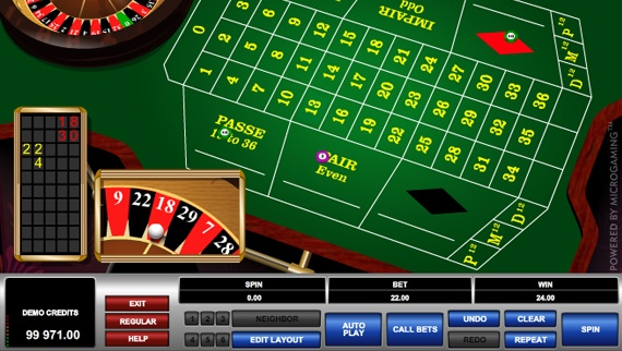French Roulette Screenshot 1