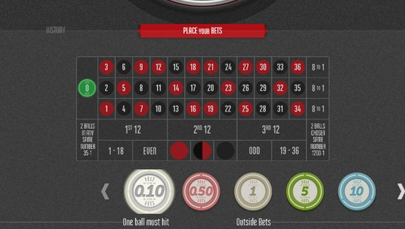 Multiball Roulette Screenshot 1